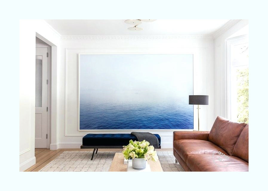 Calm Horizon Art Print
