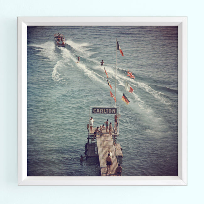 Cannes Watersports 2 Art Print