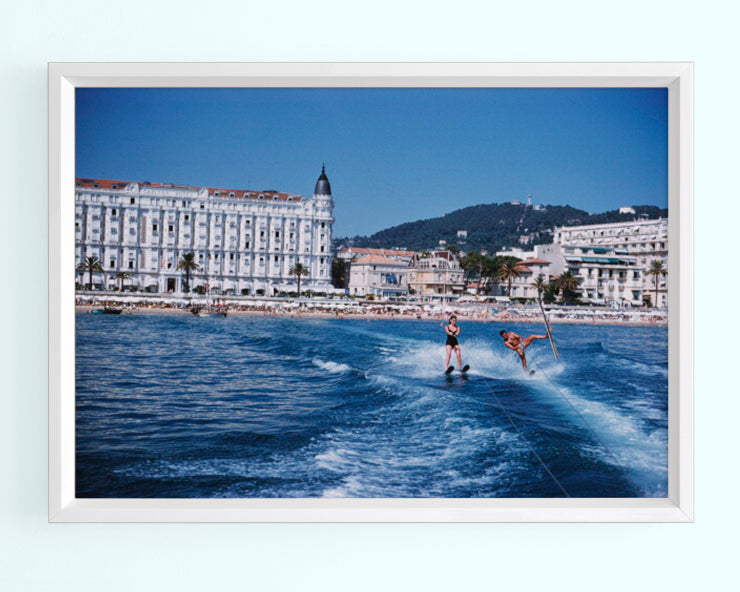Cannes Watersports Art Print