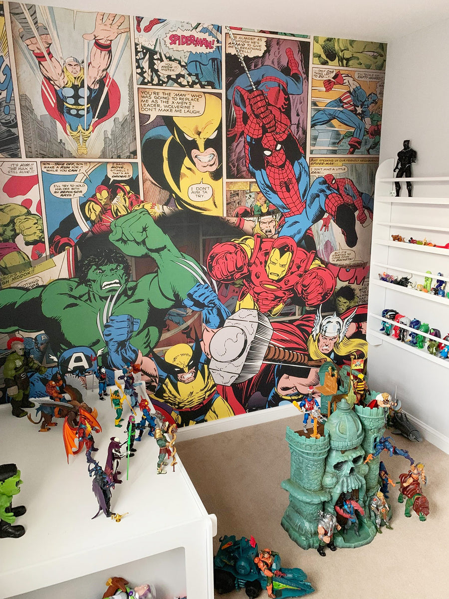 Bespoke Comic Wallpaper, Private Residence