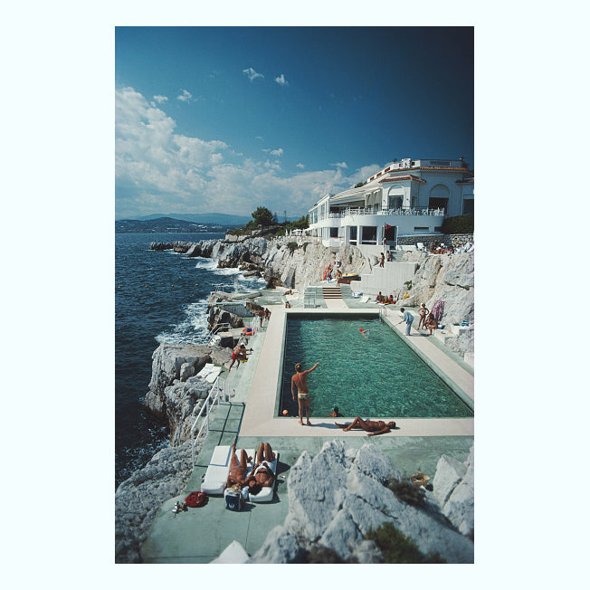 Eden Roc Pool Art Print