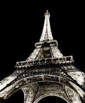 Eiffel Tower I Art Print