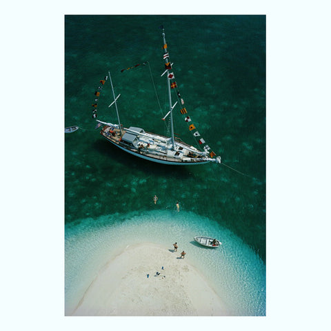 Adriatic Sailors Art Print