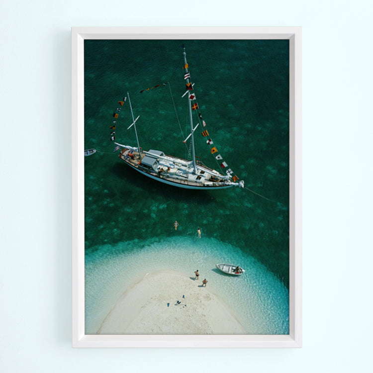 Exuma Holiday Art Print