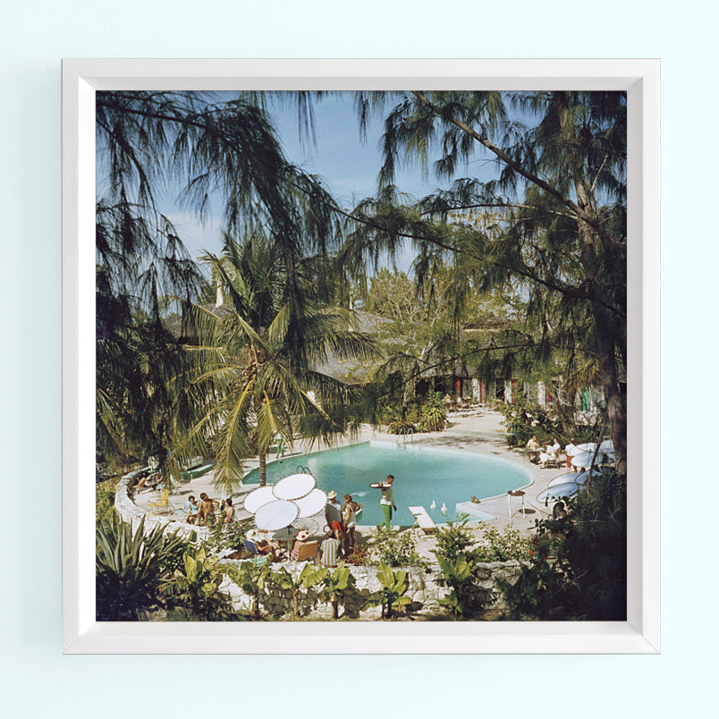 French Leave Hotel Art Print