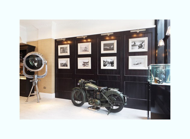 Bespoke Wallpaper, HAM Interiors, Bremont Watch Shop