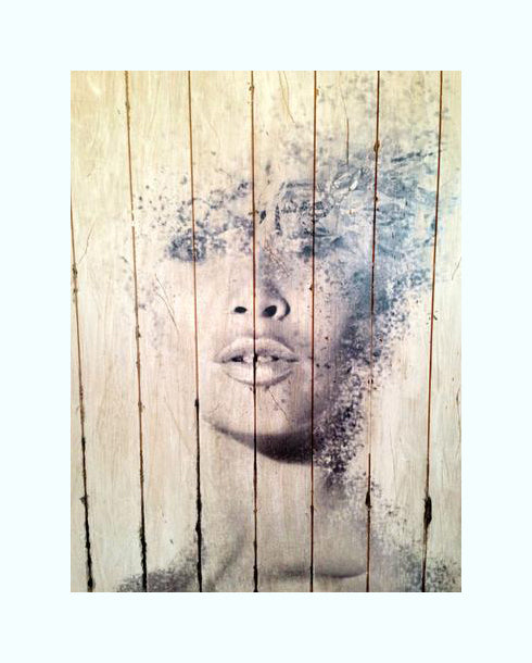 Hand Distressed Bardot on Wood, Property Development