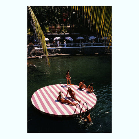 La Concha Beach Club Art Print