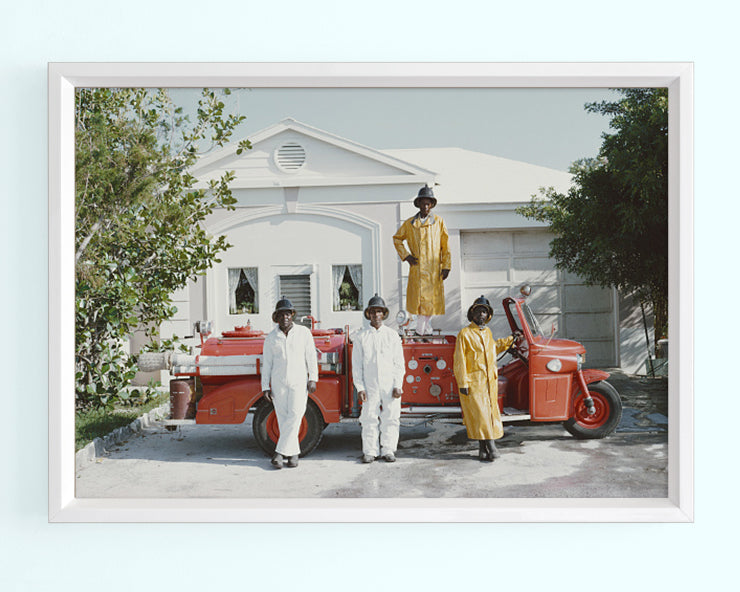 Lyford Cay Fire Service Art Print
