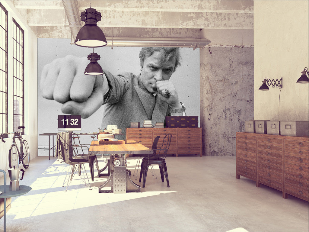 Michael Caine Wall Mural Michael Caine Boxing Wallpaper