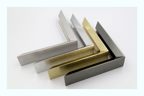 Brushed Bronze Steel