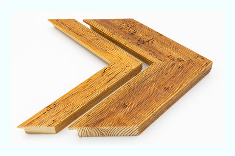 Angled Thick Distressed Wood