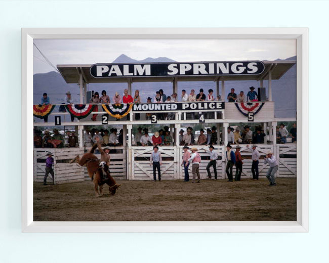 Palm Springs Rodeo Art Print