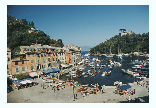 Portofino Harbour Art Print