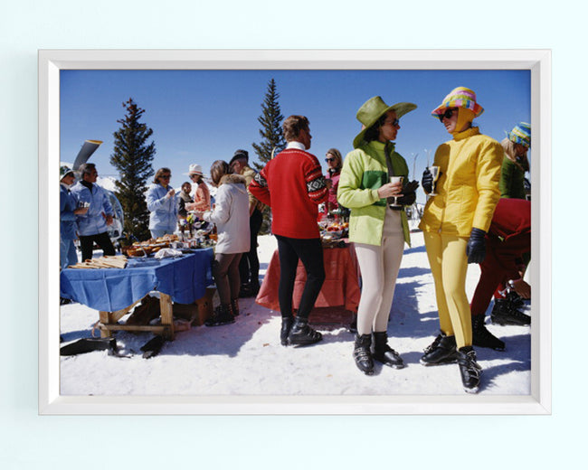 Snowmass Gathering Art Print