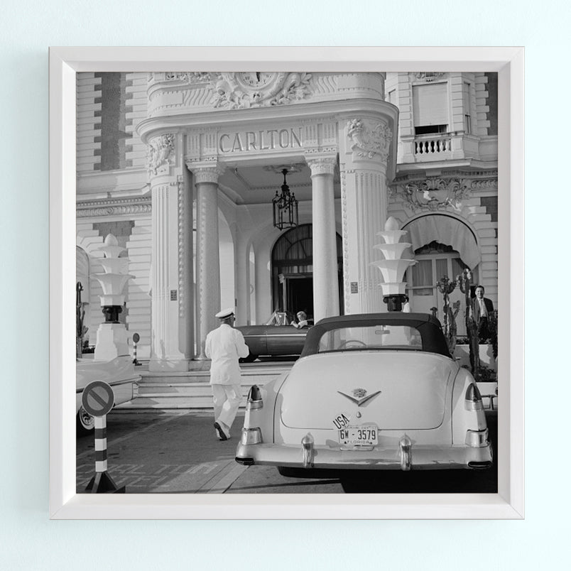 The Carlton Hotel Art Print