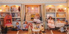 Dolls house nursery