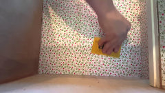 Wallpapering your dolls house