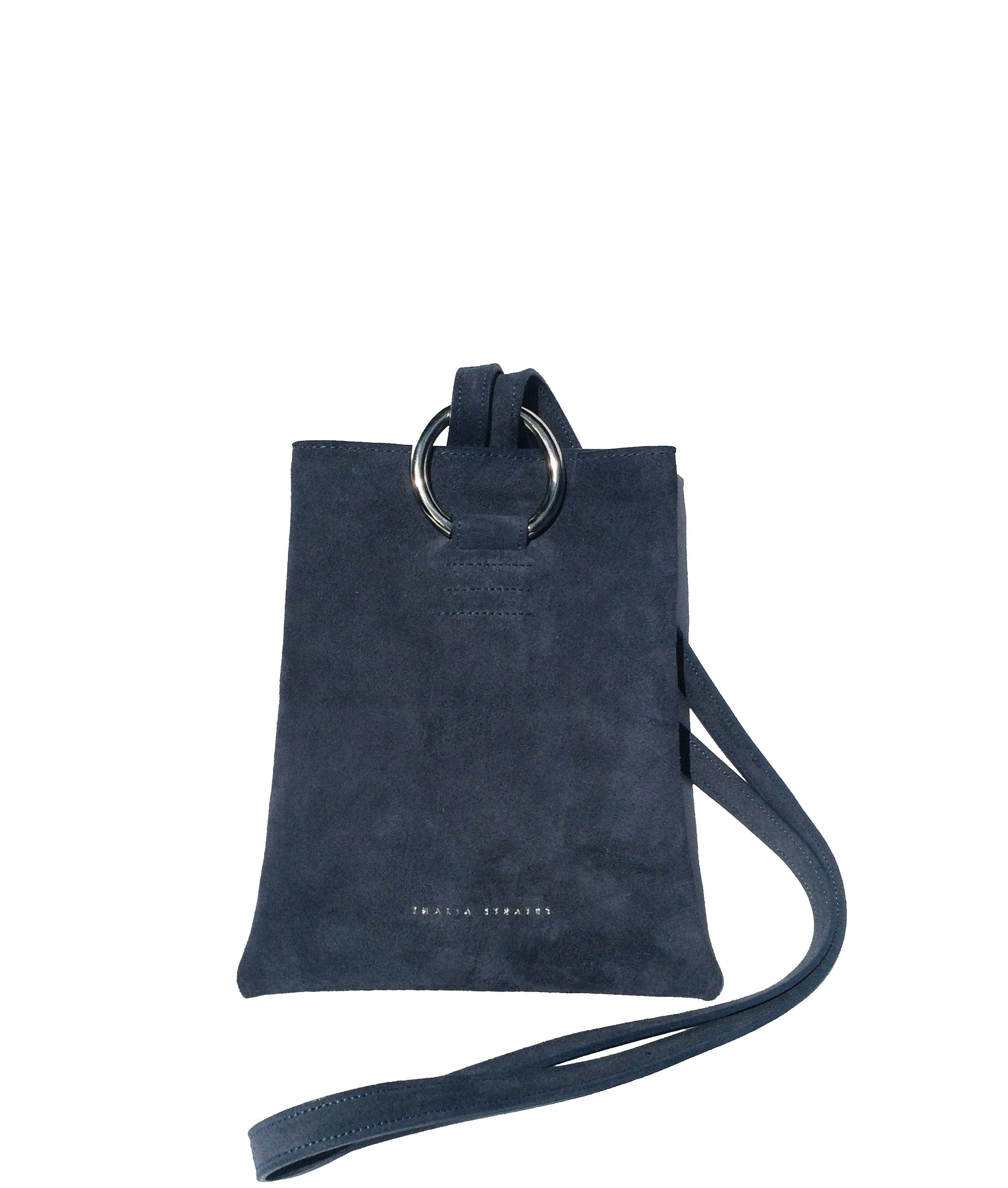 Athena Leather Bag - Indigo