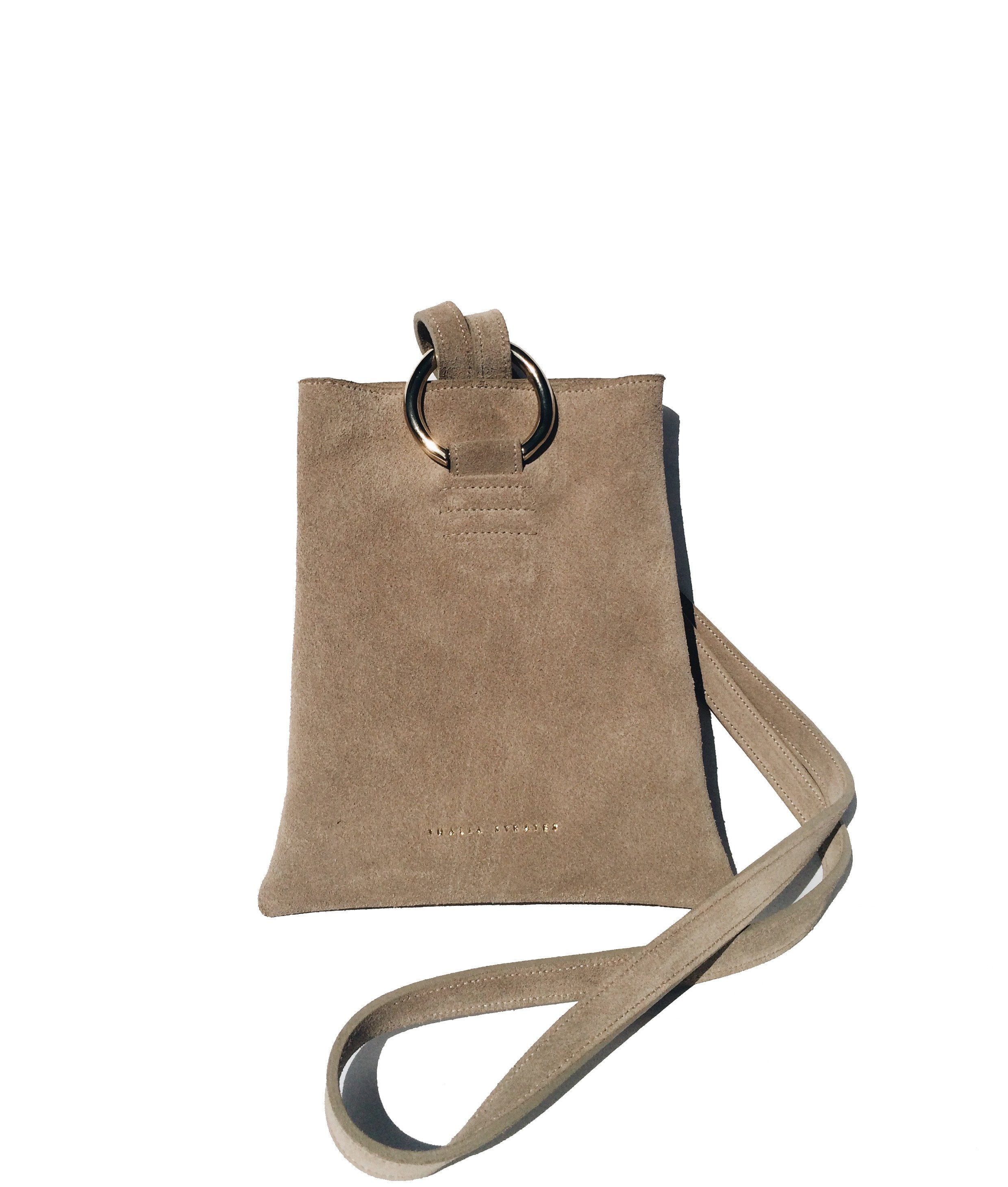 Athena Leather Bag - Sand