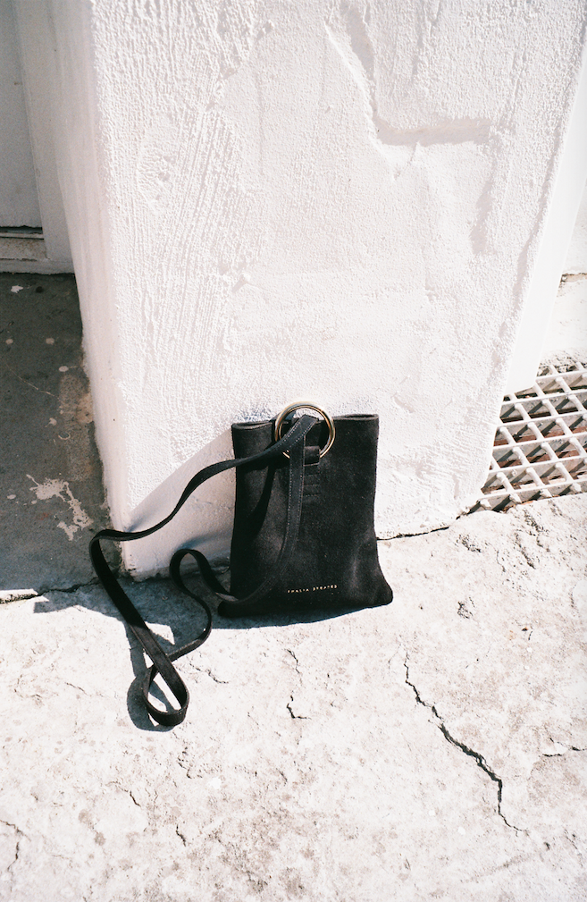 Athena Leather Bag - Black
