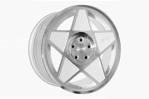 3SDM 0.05 White/Polished Finish 18x8.5 (5x112 ET +45)