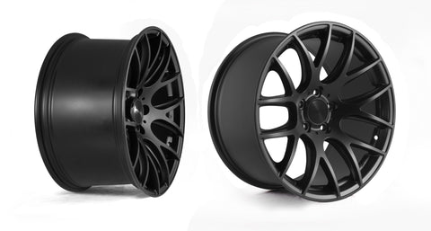 3SDM 0.01 Matte Black Finish 18x9.5 (5x112 ET +40)