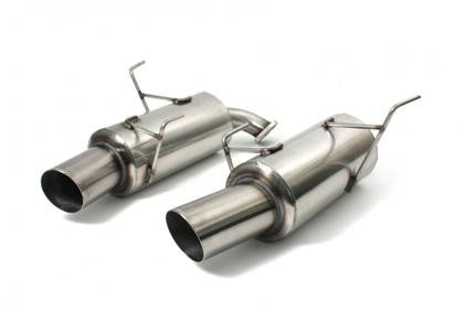 Perrin 08+ Subaru WRX Sedan Brushed Cat Back Exhaust