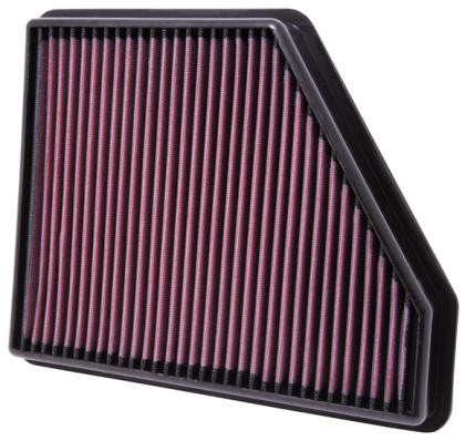 K&N 10 Chevy Camaro 3.6/6.2L Drop In Air Filter