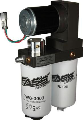 FASS 01-10 GM 2500/3500 Duramax 150gph Titanium Series Fuel Air Separation System