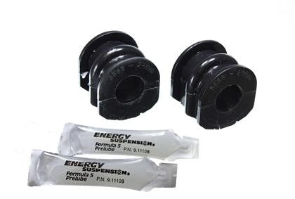 Energy Suspension 03-07 Infiniti G-35 Coupe RWD / 02-09 350Z Black 21mm Rear Sway Bar Frame Bushings