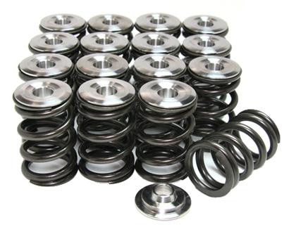 GSC P-D K-series Vtec K20/K24 Beehive Valve Spring and Titanium Retainer Kit Higher REV