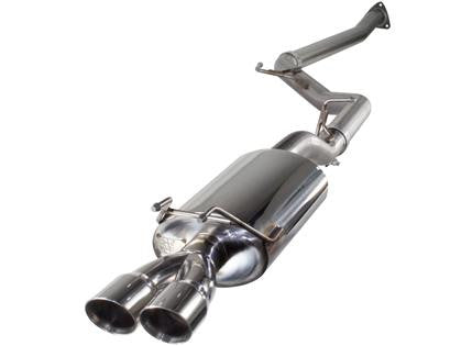 aFe Takeda MACHForce XP Exhaust Cat-Back 12 Honda Civic Si L4 2.4L COUPE ONLY