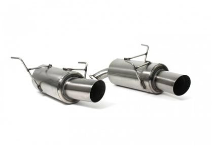Perrin 08-09 Subaru WRX Sedan Brushed Axle Back Exhaust (Muffler Section Only)