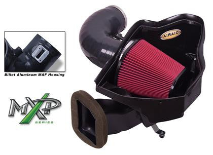 Airaid 2012 Chevrolet Camaro ZL1 MXP Intake System w/ Tube (Oiled / Red Media)