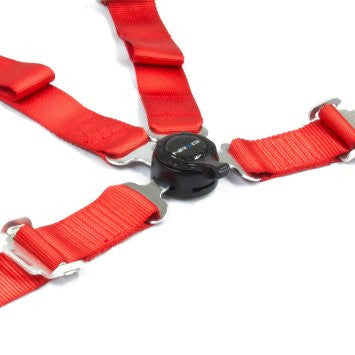 4 Point Safety Harness - Red