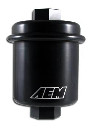 AEM 94-01 Acura Integra / 94-97 Honda Accord / 96-00 Civic / 97-01 Prelude Black Fuel Filter Kit