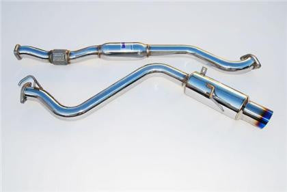 Invidia 08-09 WRX Sedan 76mm (101mm tip) REGULAR Titanium Tip Cat-back Exhaust