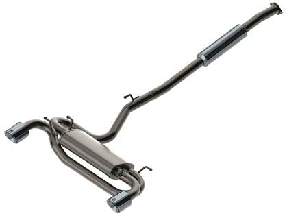aFe Takeda Exhaust Cat-Back 304 Stainless Steel 11-14 Nissan Juke L4 1.6L (t) Polished Tip