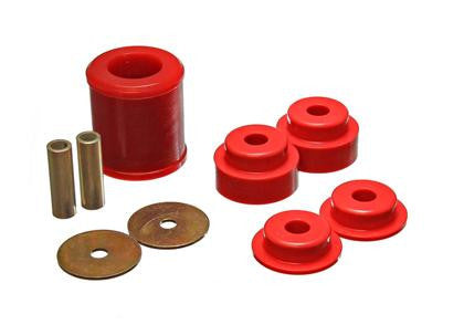 Energy Suspension 02-09 350Z / 03-07 Infiniti G35 Red Rear Differential Bushing Set