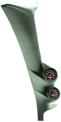 Autometer 99-03 Ford Powerstroke/SD Black Dual A-Pillar Gauge Kit