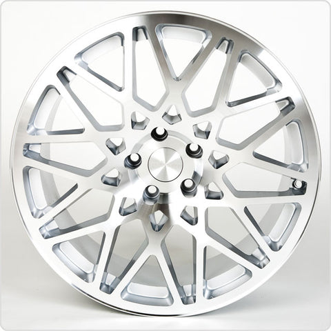 Rotiform BLQ Machined Finish 17x8 (5x100 ET +30)