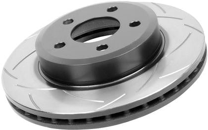 DBA 05-13 Ford Mustang GT/V6 Rear Slotted Street Series Rotor