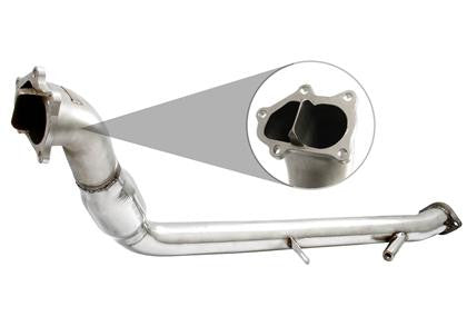 Injen 08-14 Subaru WRX 2.5L Downpipe w/ Divided Wastegate Discharge w/o Cat