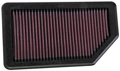 "K&N Replacement Air Filter 10.625"" O/S Length x 5.75"" O/S Width x 1"" Height"
