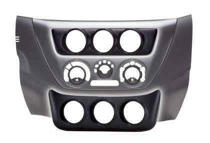 Autometer 03-06 Evo 52mm Triple Lower Console Pod