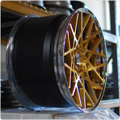 Rotiform Forged 3-Piece BLQ Super-Concave Profile