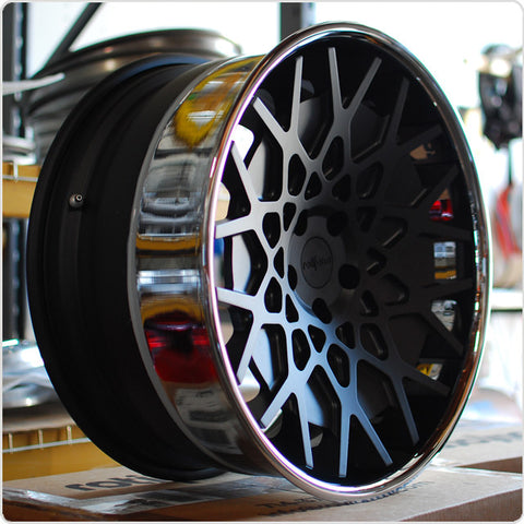 Rotiform Forged 3-Piece BTH Concave Profile