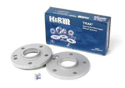 H&R Trak+ 25mm Wheel Adapter Porsche wheels 5/130 - 71.6 CB - 14x1.5 to 5/114.3 - 67.1 CB - 12x1.5