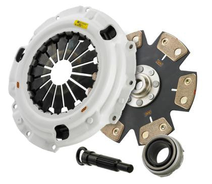 Clutch Masters 09-12 Hyundai Genesis 3.8L FX500 6 Puck Rigid Ceramic Clutch Kit w/ Steel Flywhee